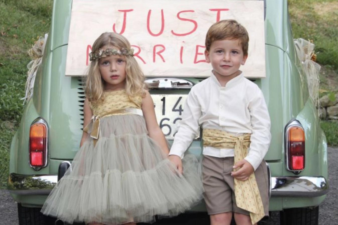 4c0912a75 Cómo vestir a los niños para una boda en 5 pasos